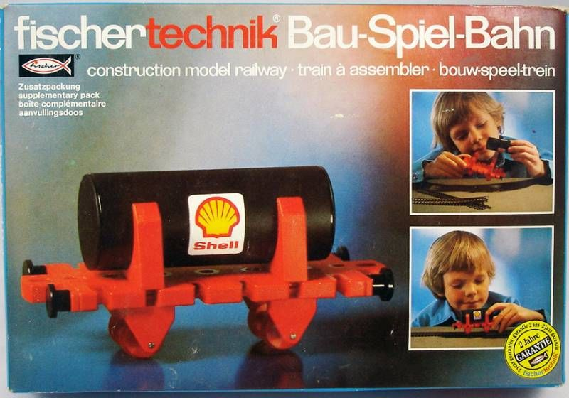 Fischertechnik - N°30119 Construction model railway Tank wagon