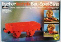 Fischertechnik - N°30120 Train à assembler Wagon à claire-voie
