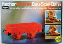 Fischertechnik - N°30121 Construction model railway Flat wagon