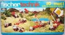 Fischertechnik - N°30542 Basic starter set with motor