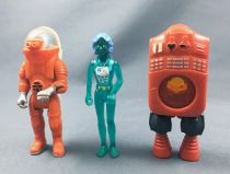 Fisher-Price - Adventure People - Alpha Pilot, X-Ray Woman & Opticon (loose)