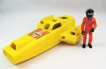 Fisher-Price - Adventure People - Land Speed Racer & Pilot (loose)