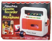 Fisher-Price - Cassette Recorder & Microphone