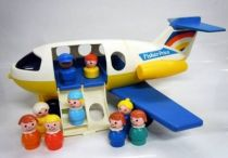 Fisher-Price 1980 - Little People - Airplane with Passengers