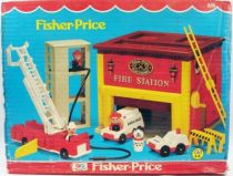 fisher_price_1980___little_people___caserne_de_pompiers_ref_928