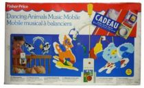 Fisher-Price 1989 - Dancing Animals Music Mobile