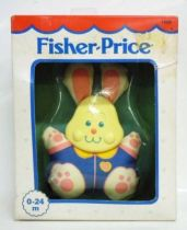 Fisher-Price 1991 - Hochets Câlins - Le Lapin