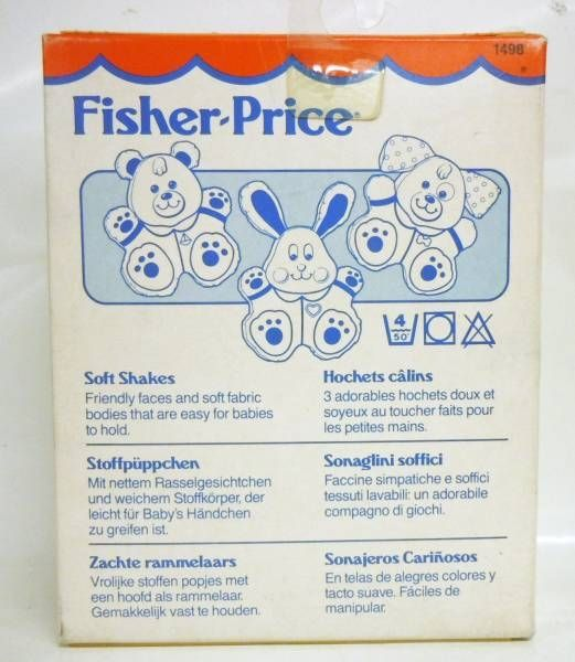 Fisher-Price 1991 - Soft Shakes - Rabbit