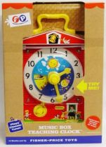 Fisher-Price Classic Toys - Music Box Teaching Clock