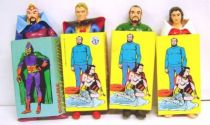 Flash Gordon - Set of 4 bendable figures (mint) - Brabo