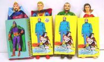 Flash Gordon - Set of 4 bendable figures (mint) - Brabo