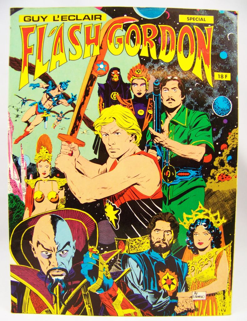 Flash Gordon (Guy l\'Eclair) Spécial - Dynamisme Presse Edtion 1980 01