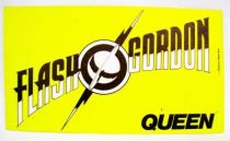 Flash Gordon (Queen) - Promotional Sticker 1980