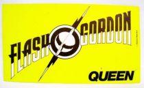 Flash Gordon (Queen) - Promotional Sticker 1980