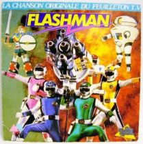 Flashman - Mini-LP Record - Original French TV series Soundtrack - AB Kid records 1988