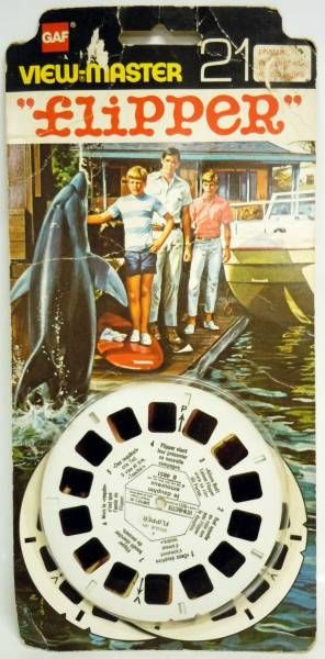 Flipper  - View-Master 3-D 3 discs set