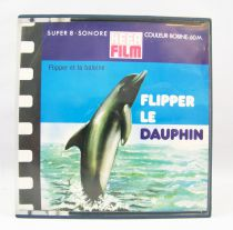 Flipper - Hefa Film Super 8 Movie Color - Flipper and the whale