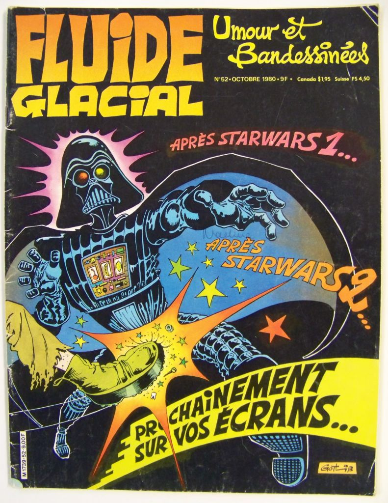 Fluide Glacial n°52 - Star Wars contre Frankenstein - Octobre 1980 01