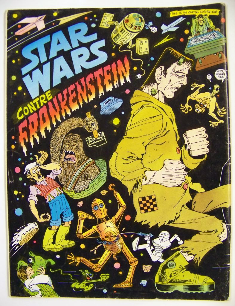 Fluide Glacial n°52 - Star Wars contre Frankenstein - Octobre 1980 02