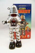 Planète interdite Robby (chromé) tôle mécanique (Ha Ha Toy) 01