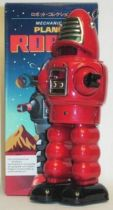 Forbidden Planet Robby (red)Tin wind-up (Ha Ha Toy)