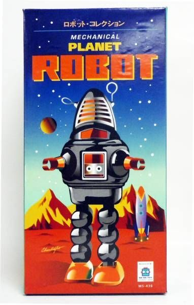 Forbidden Planet Robby Tin wind-up (Ha Ha Toy)