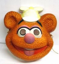 Fozzie Bear (from Muppet Babies) face-mask (by César)