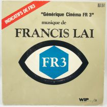 FR3 Movie Theme - Mini-LP Record - Original Soundtrack by Francis Lai - WEA Records 1975