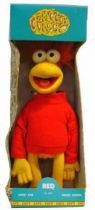 Fraggle Rock - Bendy Toys - Red 12\'\' Latex Bendable figure
