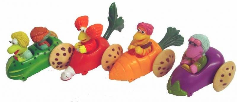 Fraggle Rock - McDonald\'s - Set of 4 Premium vegetable-car