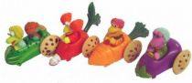 Fraggle Rock - McDonald\'s - Set of 4 Premium vegetable-car