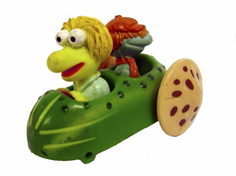 Fraggle Rock - McDonald\'s - Wembley & Boober in vegetable-car
