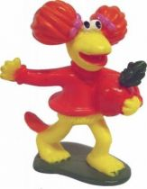 Fraggle Rock - McDonalds - Red with radish PVC with base
