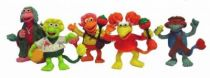 Fraggle Rock - Set of 5 Comic Spain PVC figures