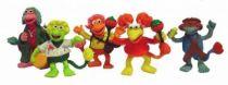 Fraggle Rock - Set of 5 Comic Spain PVC figures