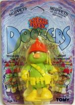 Fraggle Rock - Tomy - Doozer with orange helmet Wind-Up toy (mint on card)