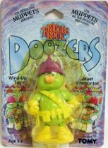 Fraggle Rock - Tomy - Doozer with purple helmet Wind-Up toy (mint on card)