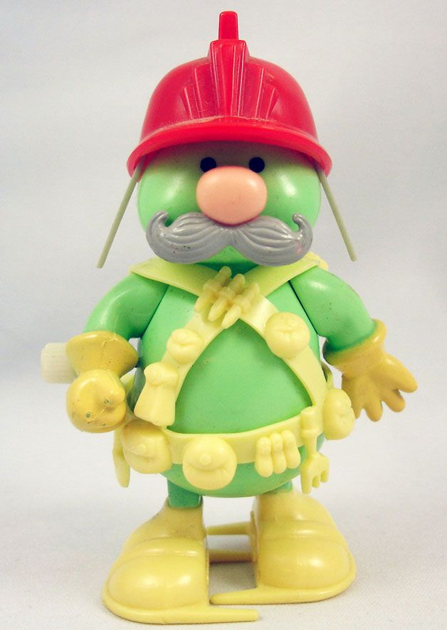 Fraggle Rock - Tomy - Doozer with red helmet Wind-Up toy ...