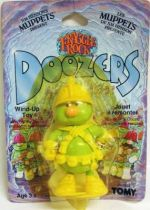 Fraggle Rock - Tomy - Doozer with yellow helmet Wind-Up toy (mint on card)