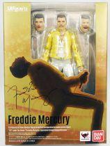 "Freddie Mercury - \""The Magic Tour 1986\"" - Figurine S.H.Figuart Bandai"