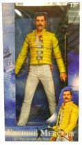 Freddie Mercury of Queen - \'\'The Magic Tour 1986\'\' - 18-Inch Electronic Talking Action Figure - NECA