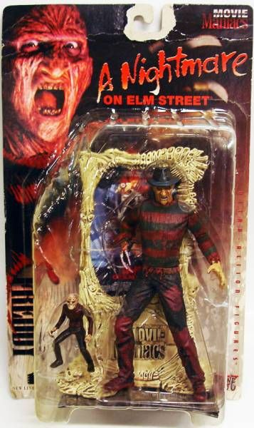 Freddy Krueger - McFarlane Toys - Movie Maniacs 1
