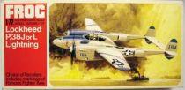 Frog - F186 Lockheed P.38J or L Lightning 1/72ème