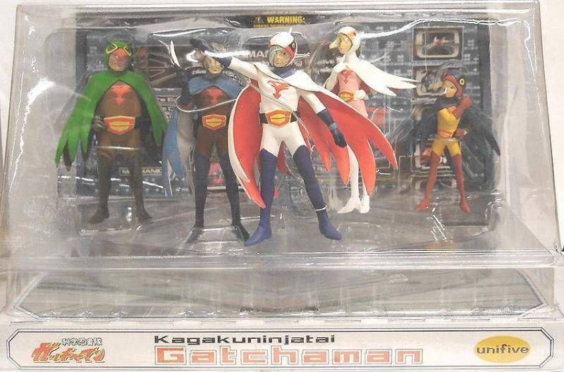 G Force - set of 5 PVC figure - Unifive