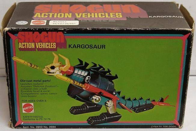 Gaiking - Mattel Shogun Action Vehicles - Gaiking Kargosaur (Neuf en boite)