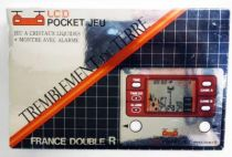 Gakken / France Double R - LCD Pocket Game - Earthquake (Loose with box)
