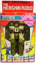 Gakken Lansay - Mospeada - Legioss AFC-01I (Iota Green) Henshin Robo