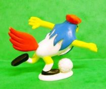 Galli (the sports cock) - Schleich - Soccer player Galli