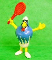 Galli (the sports cock) - Schleich - Tennis player Galli