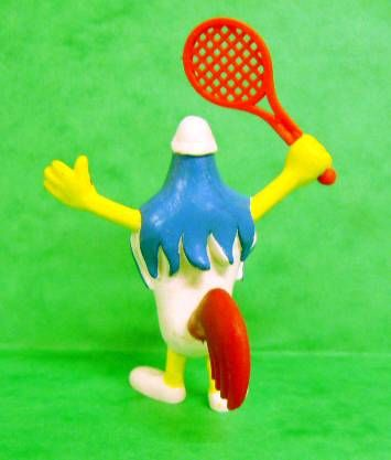 Galli (the sports cock) - Schleich - Tennis player Galli